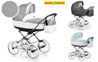 Classic stroller Roan Marita Prestige casual pram 2in1 pushchair carrycot