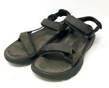 Teva Terra Fi 4 Leather Turkish Coffee Brown Sandals Mens Size 13