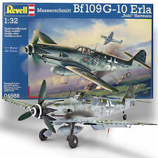 REVELL 1/32 MESSERSCHMITT BF109 G-10 MARKINGS FOR ACE ERLA 'BUBI' HARTMAN