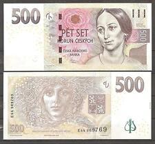 CHECA República - CZECH Republic, 500 KORUN 2009  Pick 24   SC  UNC