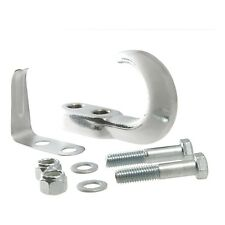 Tow Hook w/ Hardware, Chrome, 10000 lb. Gross Towing Weight
