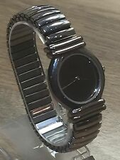 Ladies Stainless Steel Davis Design Collection Watch 5190 Stretch Strap