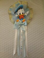Baby Donald Duck, Baby Shower Mother to be Corsage, Blue for Boy's