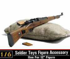 1/6 Dragon WWII Army Karabiner Kar.98k CARBINE Rifle Clip Sandbag For 12''Figure