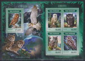 L447. Mozambique - MNH - Animals - Birds - Owls - 2014
