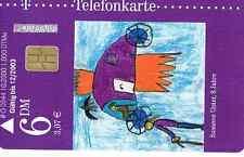 TELEFONKARTE:KUNST & KALENDER 2001 JUNI O 0344 10.2000  AUFL. 1.000 VOLL RAR