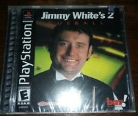 Jimmy White's Cue Ball 2 for Sony PlayStation [New Video Game] Playsta