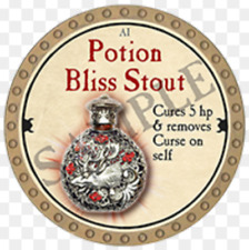 True Dungeon Token - Potion Bliss Stout