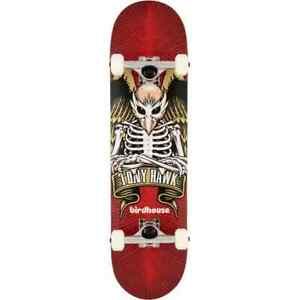 """Birdhouse Stage 1 TH Icon Complete Skateboard - Red 8"""""""