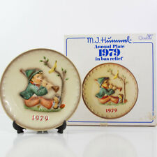 "Goebel M. J. Hummel 9Th Annual 7.5"" Plate 1979 Hum 272 Singing De Chant"
