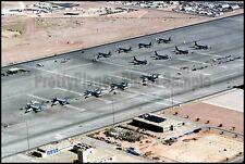 Aerial View North Ramp Prince Sultan Air Base Saudi Arabia 2000 8x12 Photo