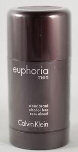 Euphoria by Calvin Klein 2.6 OZ Alcohol Free Deodorant Stick for Men