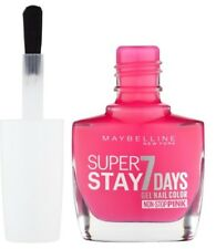 Gel Nail Polish #160 MAGENTA SURGE hot pink Maybelline Super Stay GEL Nail