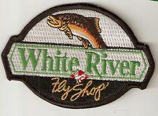 White River Fly Shop Souvenir Fishing Patch