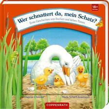 NEU ★ Coppenrath Verlag Bilderbuch Wer schnattert da, mein Schatz? 18+Monate ★