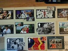 2014 - GPO FILM UNIT - PHQ 389 STAMP CARDS - FDI FRONT PICTORIAL HANDSTAMPS