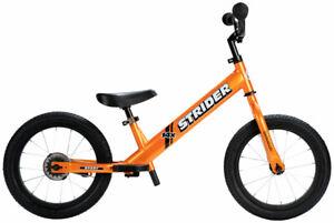 NEW Strider 14x Sport Balance Bike - Tangerine