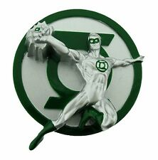 Green Lantern Belt Buckle Usa American Superhero Comics Logo Costume Fashion New