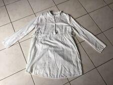 Chemise blouse robe de grossesse PETIT BATEAU taille 2 blanche neuve