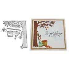 Autumn Metal Cutting Dies Stencil DIY Scrapbooking Album Paper Card Embossing