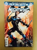 NIGHTWING #1 REBIRTH VARIANT 1ST PRINT DC COMICS (2016) BATMAN ROBIN GRAYSON