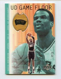 David Robinson 2001-02 Upper Deck Hardcourt Game Floor AG210