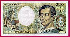 France ( P#155f ) billet de banque 200 frs ~ ttb+ ~ 1994 ( lot 441 )