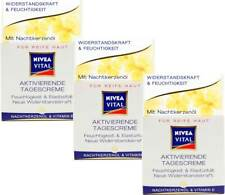 3x Nivea Vital Aktivierende Tagescreme - Nachtkerzenöl Und Vitamin E, (3x50 ml)
