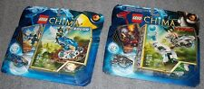 LEGO - 70105 / 70106 CHIMA - WINZAR & EGLOR  NEW & SEALED  2 SETS