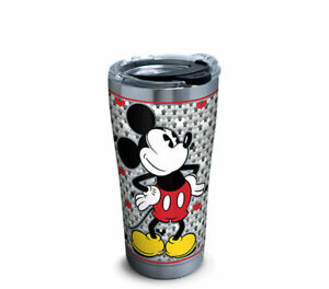 Disney Mickey Mouse Tervis Tumbler New 20oz Stainless Steel