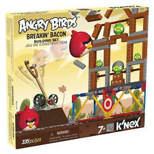 K'NEX ANGRY BIRDS BREAKIN' BACON BUILDING SET 355PCS  KN72621