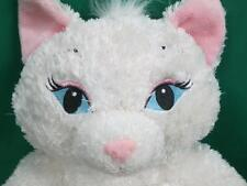 ADORABLE BUILD A BEAR GIRL kitty cat Sexy EYELASHES PINK EAR HEART PLUSH