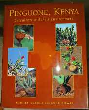 Pinguone, Kenya - Succulents and their Environment by Rudolf Schulz & Anne Powes