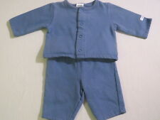 Baby Gap Blue Jacket Pants Outfit, 0-3 & 3-6 mos.