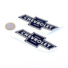 Chevrolet ancien Badge Sticker Autocollant Classique Voiture Vinyle 100 mm x2 American Muscle