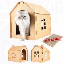 Pet Cat Scratcher Card Board Scratching Corrugated Cardboard Scratch House