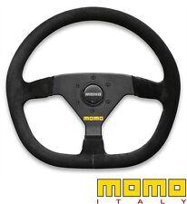 Momo Racing Volante Mod.88 Fondo Plano Negro 350mm d-shape