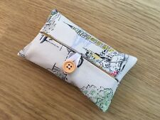 Handmade Packet Tissue Holder Made Using Cath Kidston Billie Goes To Town Fabric