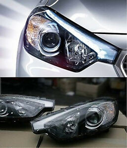 Genuine LED Projection Head Light Lamp Assy 2p For 2013-2015 Forte : K3 & Koup