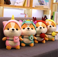 Cute Kawaii Shiba Inu Corgi Dog Plush Toy (Bee, Reindeer, Monster, Unicorn)