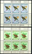 NEW ZEALAND HEALTH M/S 1966 BIRDS LHM (ID:MMH079B)