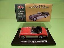 ATLAS 105 AUSTIN HEALEY 3000 MK III - RED 1:43 - EXCELLENT IN BOX