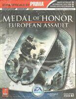 MEDAL OF HONOR EUROPEAN ASSAULT. Guida Ufficiale ITA - GameCube, PS2, XBOX