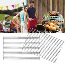 Stainless Steel Grill Net Thicken Barbecue Grill Net Grid Grate for Camping