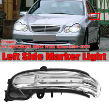 For Mercedes-Benz W203 C-Class Driver Left Door Mirror Turn Signal Light LED