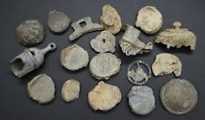 Mixed group of lead metal detector finds - British found