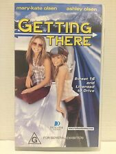 GETTING THERE ~ VHS VIDEO ~ MARY-KATE & ASHLEY OLSEN