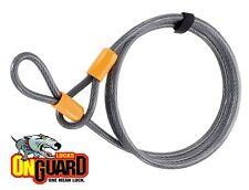 Onguard Akita candado cable alargador bobina alta seguridad Lk8080