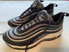 Women's Boys Nike At Max 97 Black Platinum Trainers Size Uk 5
