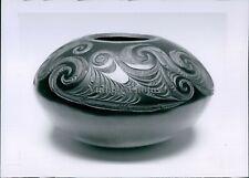 1993 Maori Art Pottery New Zealand Contemporary Influence Native Art Photo 5X7